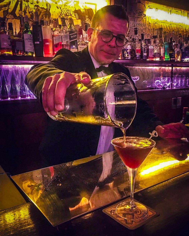 Boadas Cocktail Bar, Las Ramblas, Barcelona - Ben Holbrook