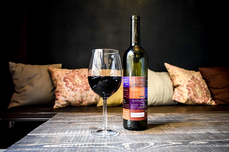 Terravino wine and tapas bar in Sants, Barcelona