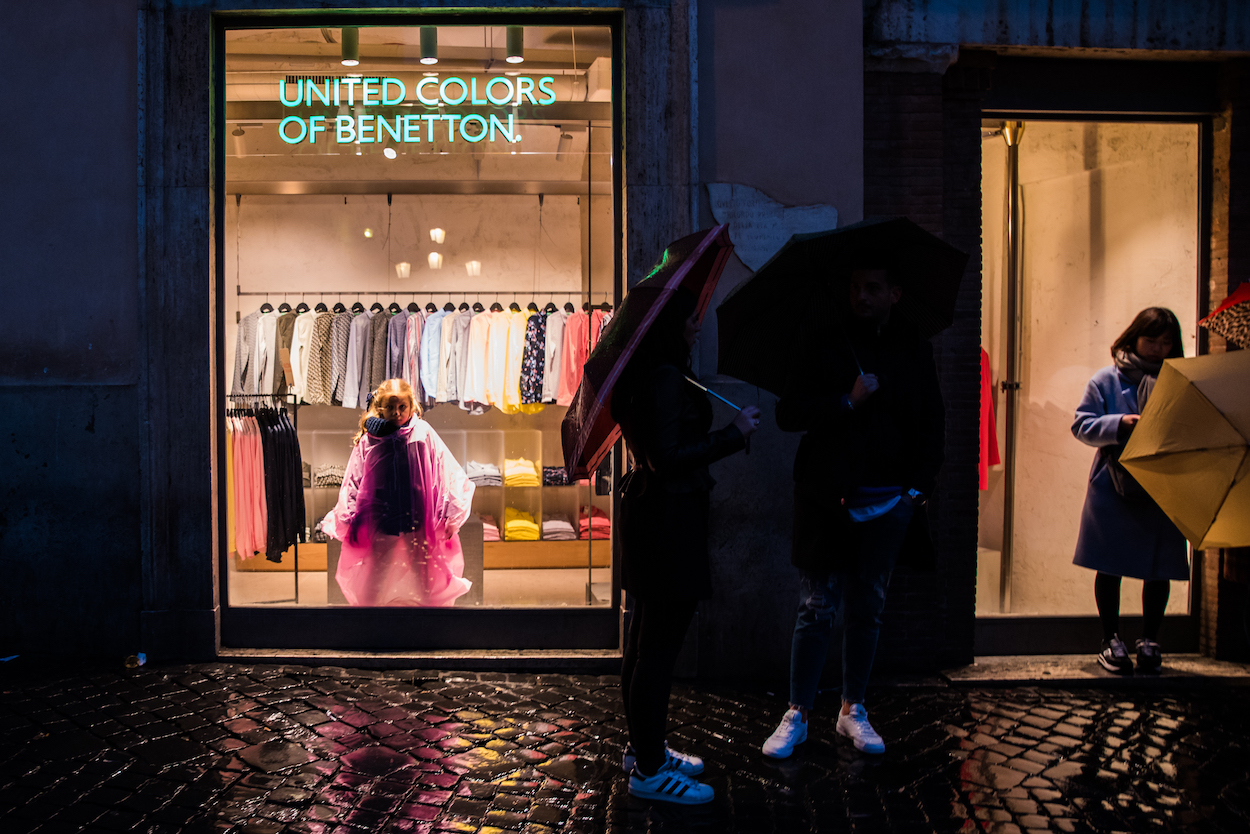 Rome street photography by Ben Holbrook