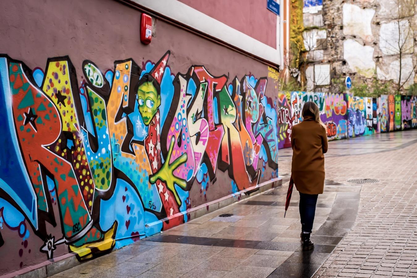 Street art in Santander, Northern Spain - by Ben Holbrook