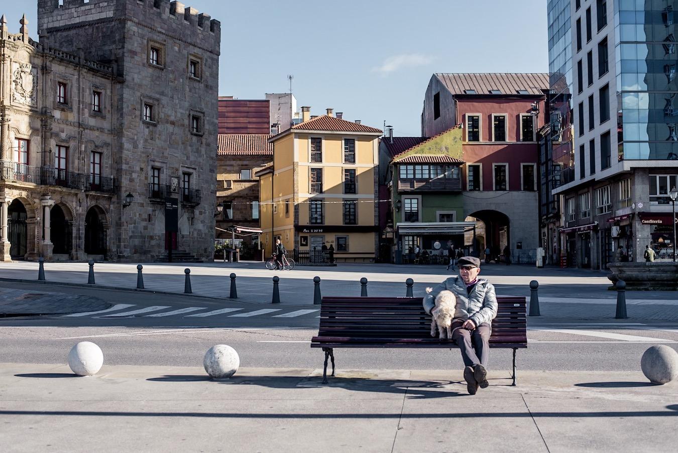 Gijon, Asturias, northern Spain