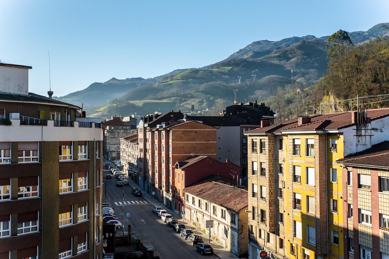 Pola de Lena, Asturias, Northern Spain.