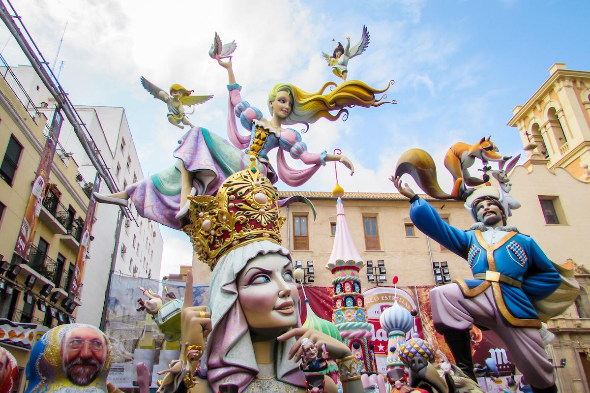 Ninots at Valencia's Las Fallas Festival ~ by Ben Holbrook