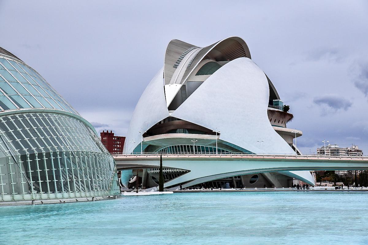 Valencia's Ciudad de las Artes y las Ciencias (City of Arts and Sciences)