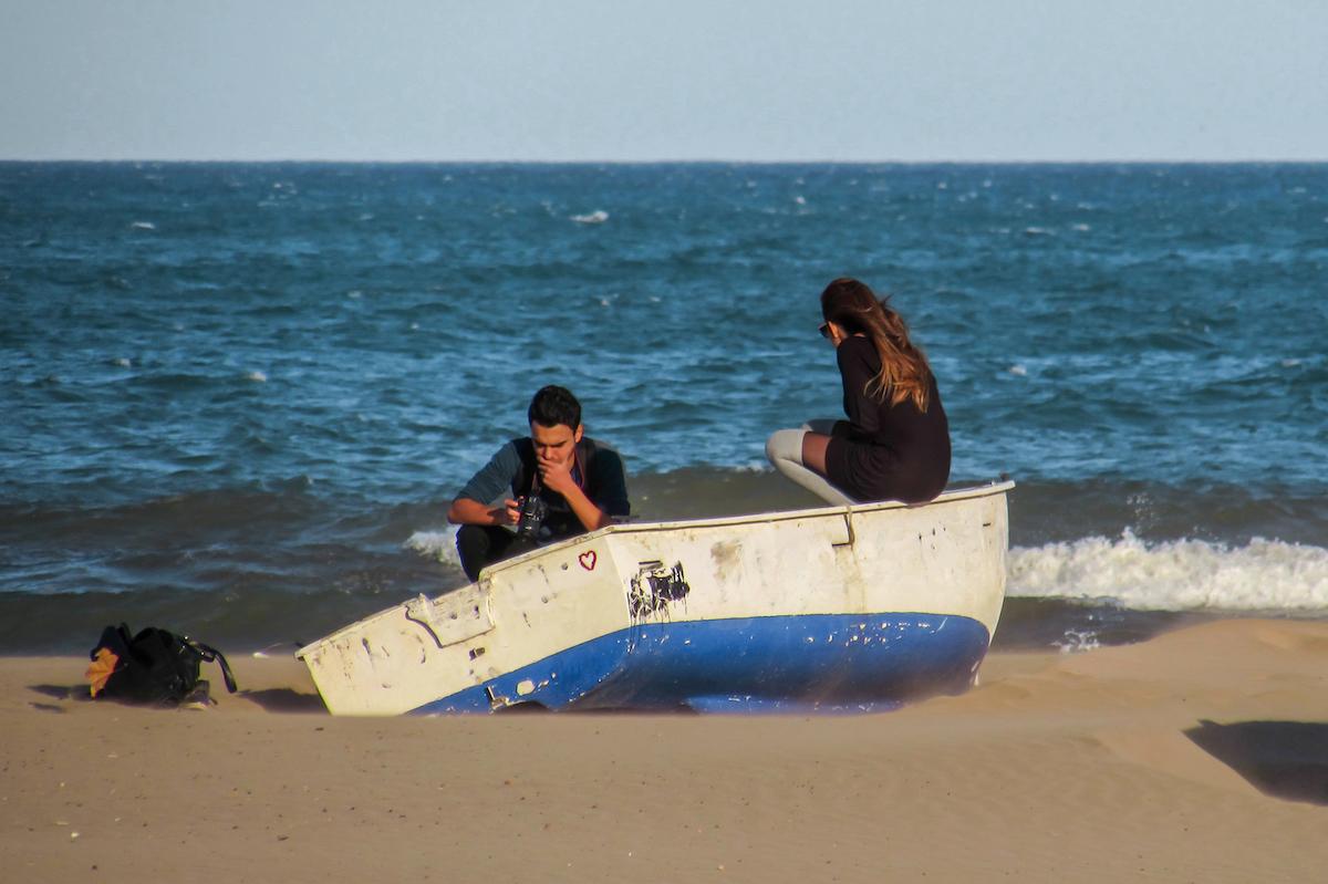 Malvarrosa Beach Valencia - by Ben Holbroo