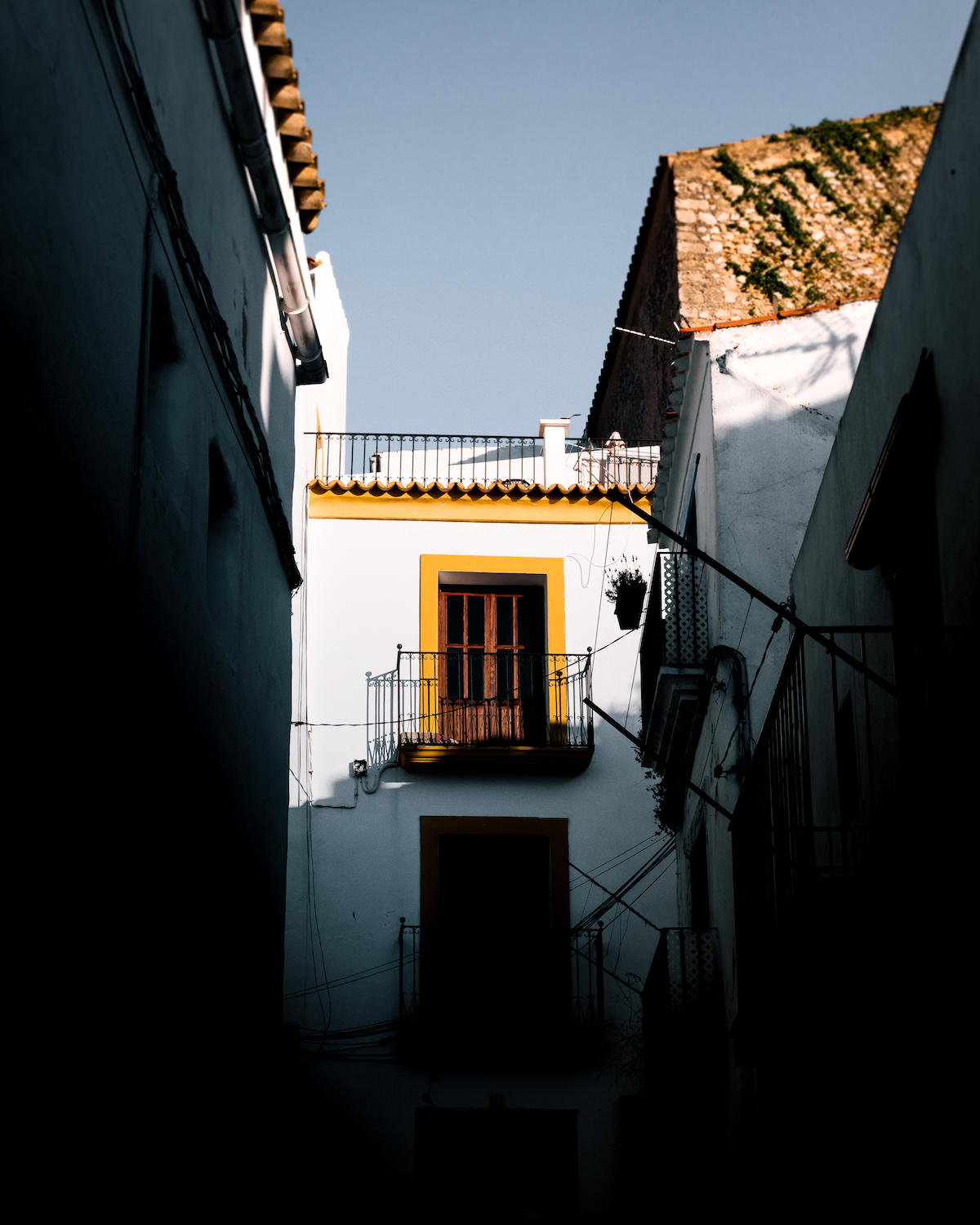 Ibiza Old Town - by Ben Holbrook