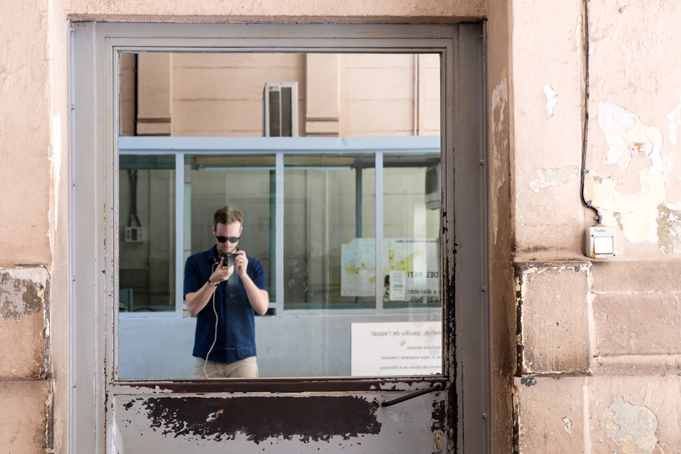 La Modelo Prison in Barcelona - Copyright Ben Holbrook 2018DSCF5700