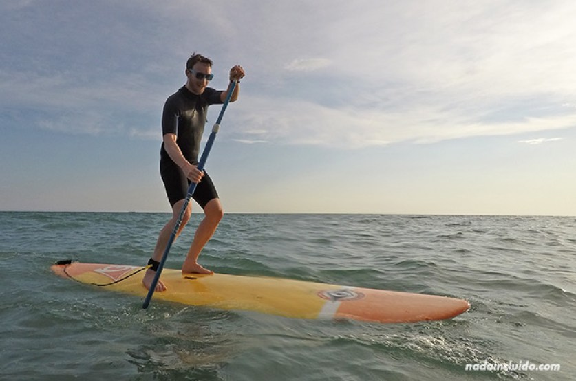 Go Stand Up Paddle Boarding in Chipiona's Warm Waters