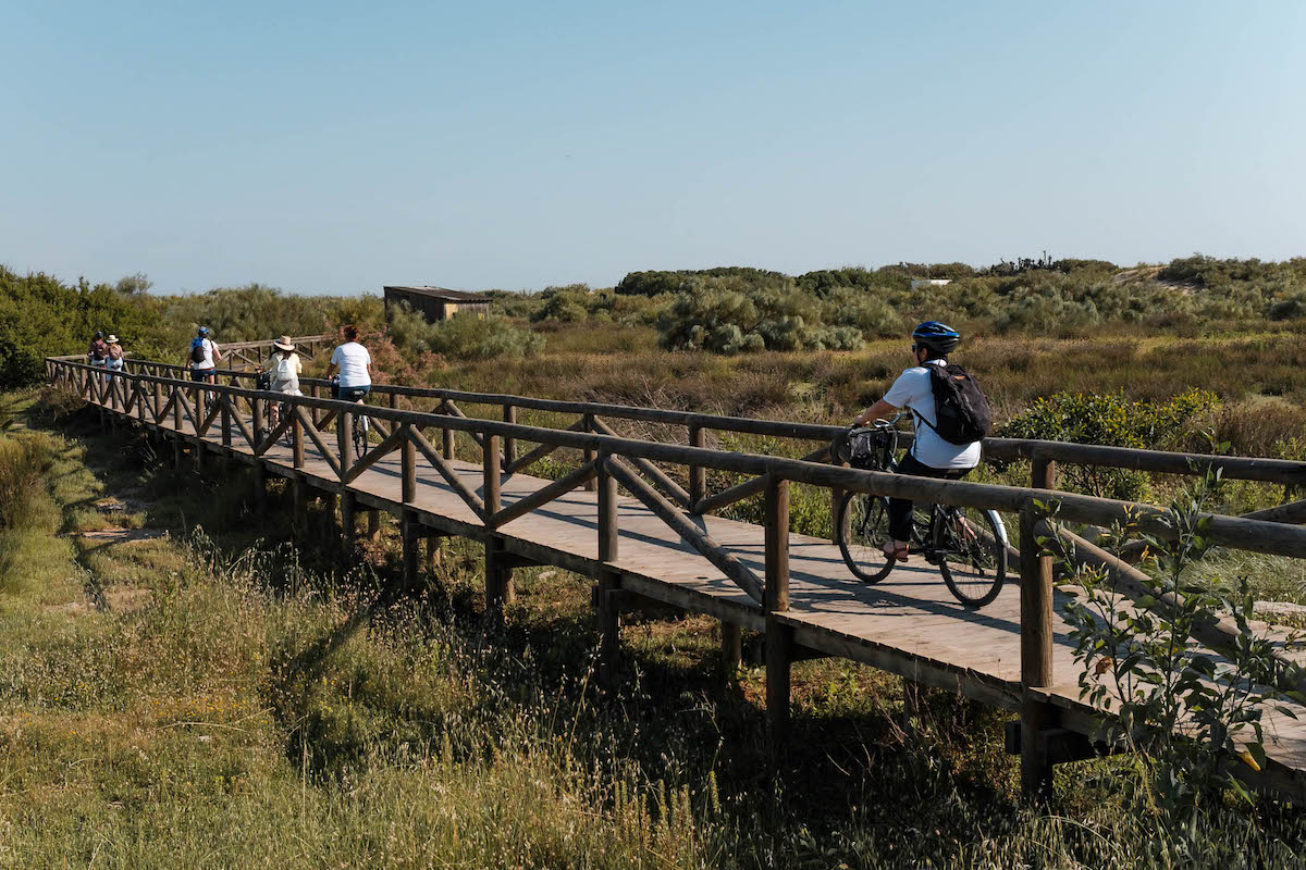 Cycling in Chipiona,Cádiz (Andalucia), Southern Spain