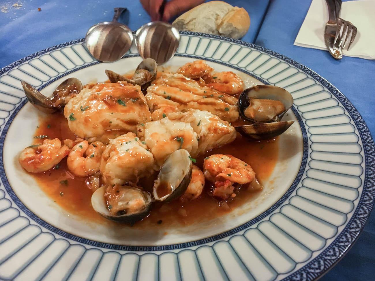 Casa Juan Chipiona, traditional Andaluz cuisine.