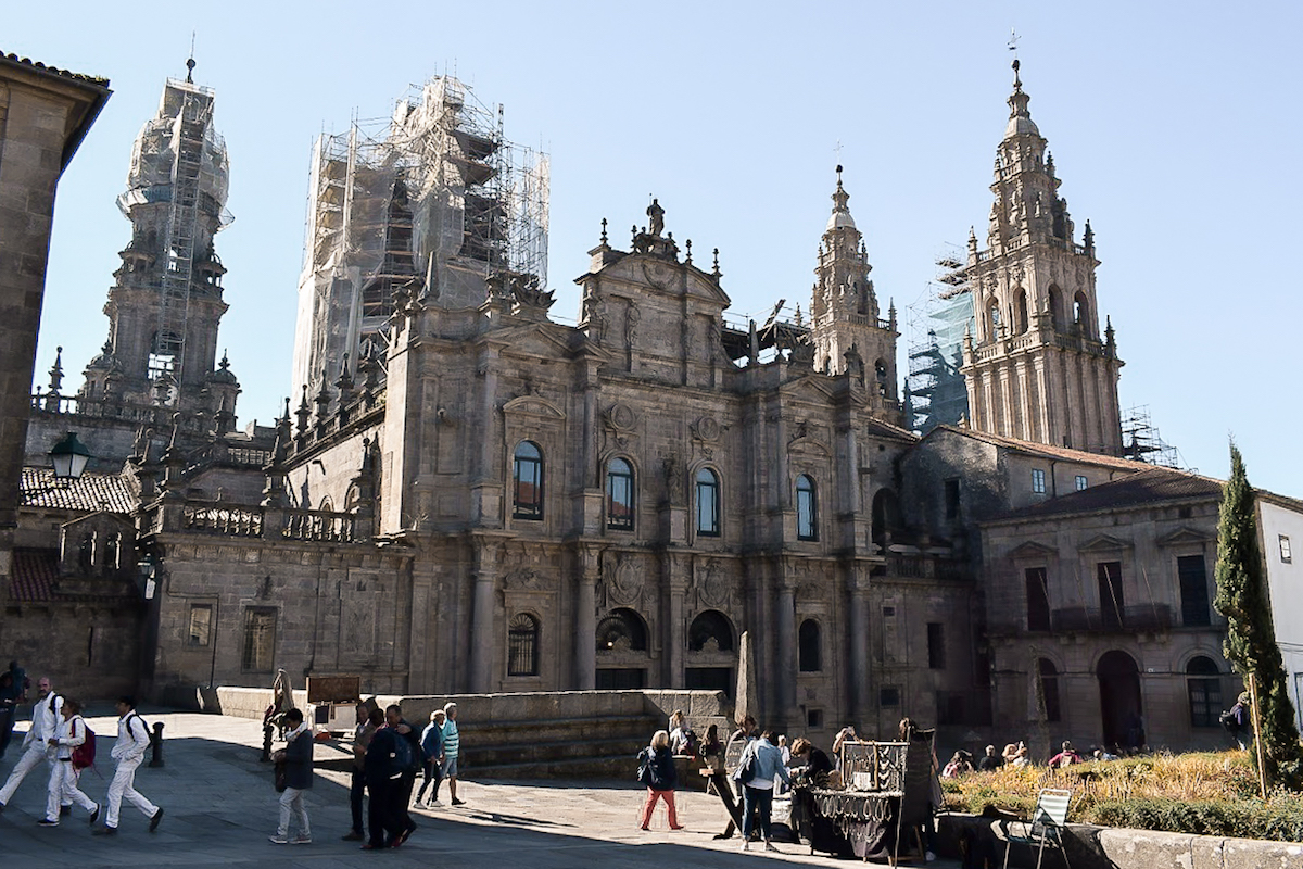 Santiago de Compostela's Iconic Cathedral - by Ben Holbrook