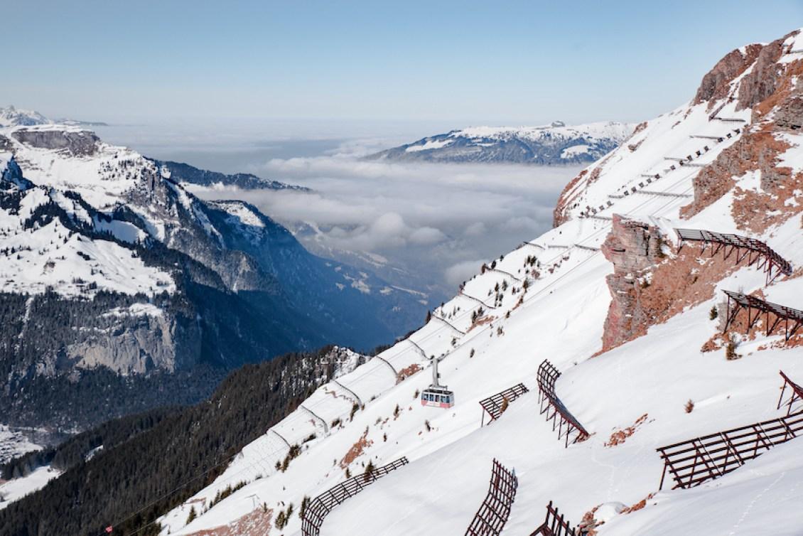 Wengen Ski Resort, Switzerland - by Ben Holbrook