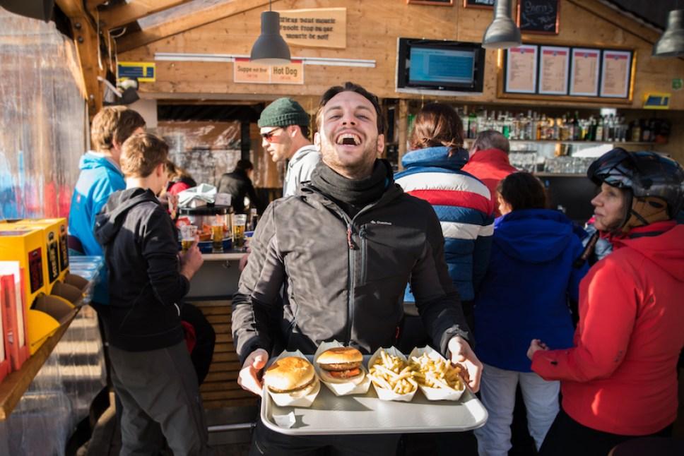 Schneebar Figelerbar - Where to eat in Wengen, Switzerland.