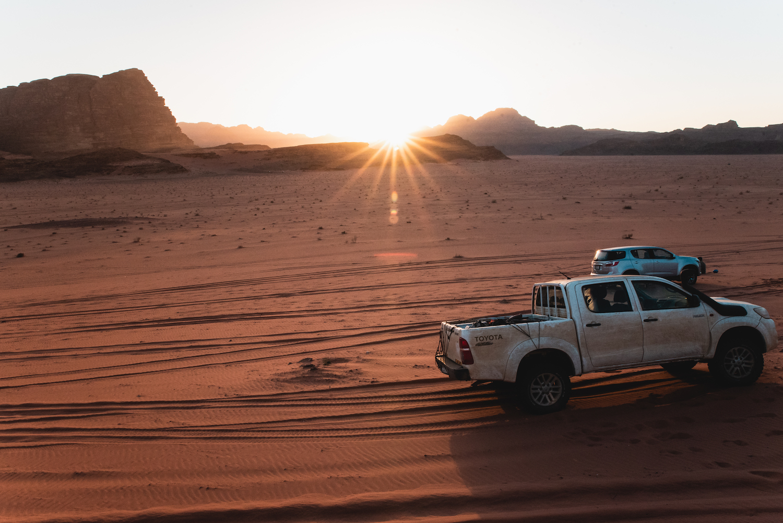 Wadi Rum Desert Jeep/4X4 Tour