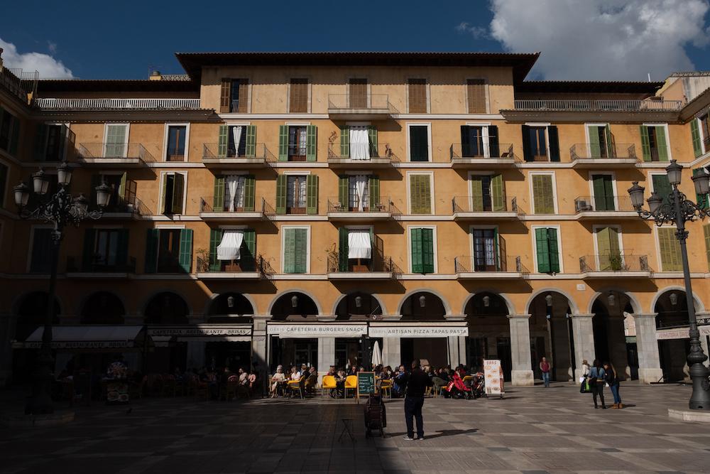 Placa Mayor, Palma City Centre - Mallorca Travel Photography by Ben Holbrook from DriftwoodJournals.com