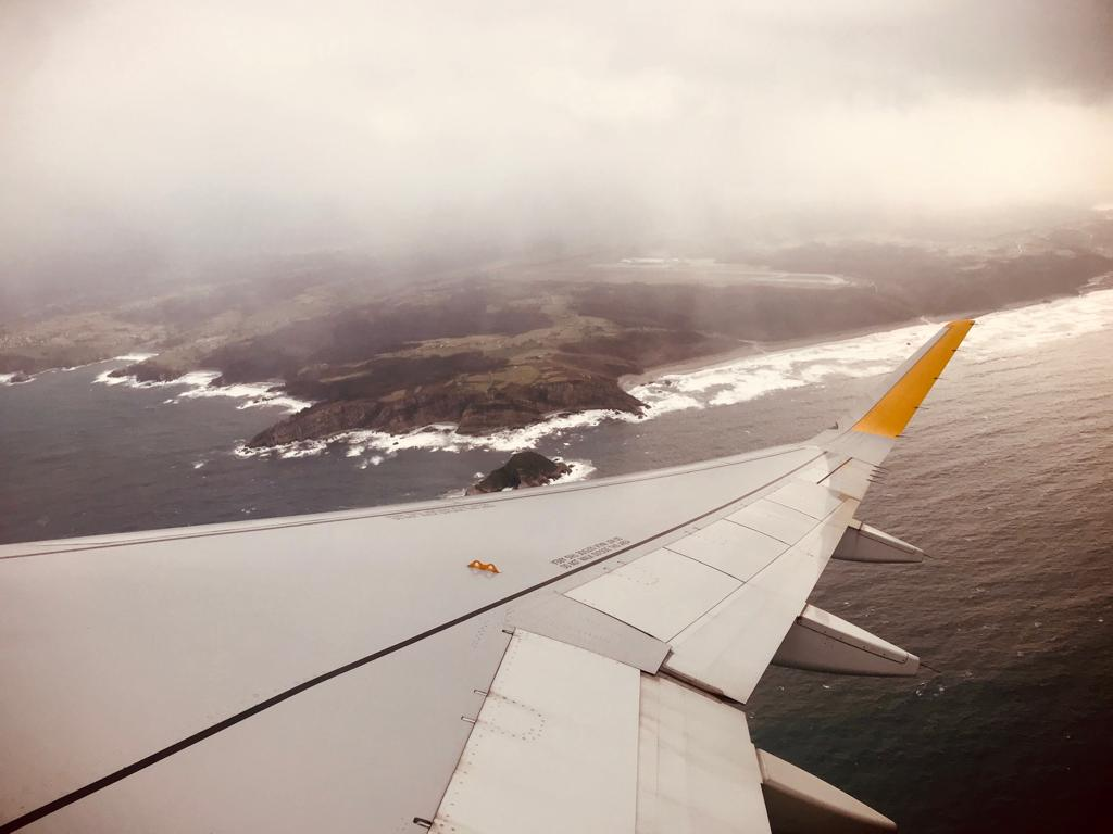 Somewhere over northern Spain - by Ben Holbrook from DriftwoodJournals.com