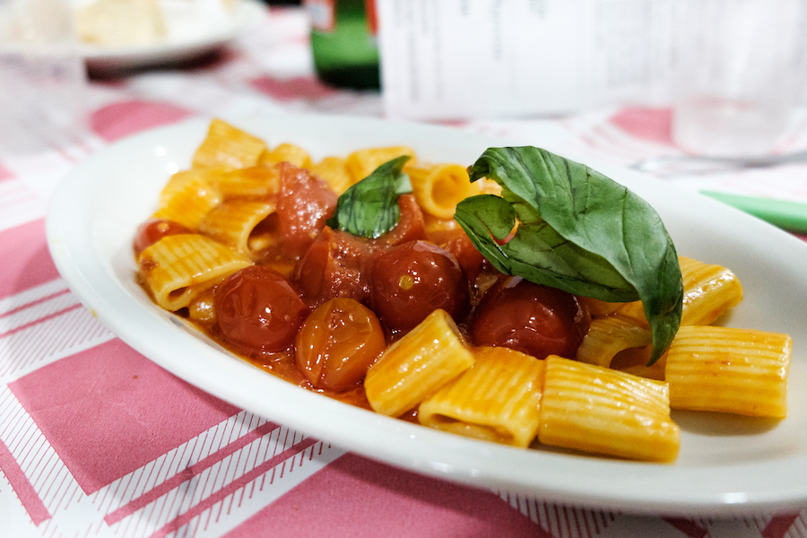 Fresh pasta at trattoria Da Nennella - Ben Holbrook