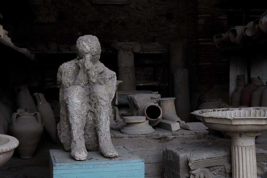 Remains at Pompeii - by Ben Holbrook