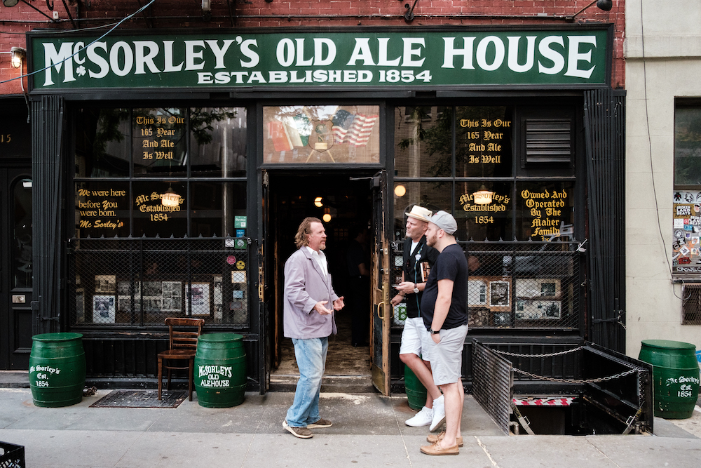 McSorley's Old Ale House, New York Travel and Street Photography by Ben Holbrook from DriftwoodJournals.com-7749