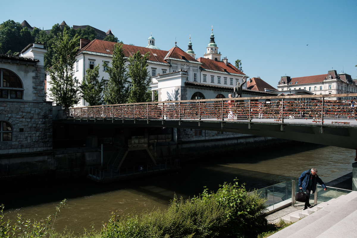 Butcher's Bridge, Ljubljana, Slovenia Old Town - Travel and Street Photography by Ben Holbrook from DriftwoodJournals.com-6478