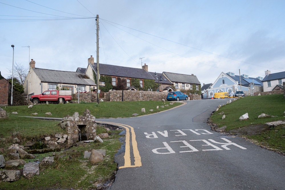 King's Head Pub, Llangennith Village and King's Head Inn Pub, Gower Peninsula South Wales, UK - Landscape Photography by Ben Holbrook-17