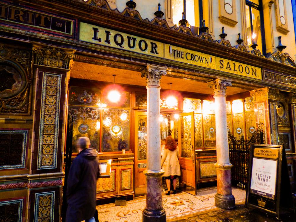 Crown Liquor Saloon – Belfast, Ireland