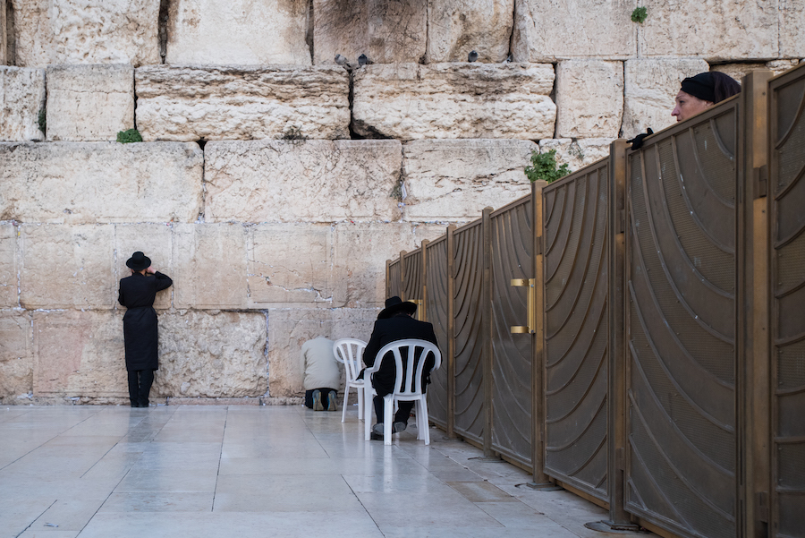 Western Wall, or 'Wailing Wall' -Israel Travel Photography by Ben Holbrook from DriftwoodJournals.com-2314