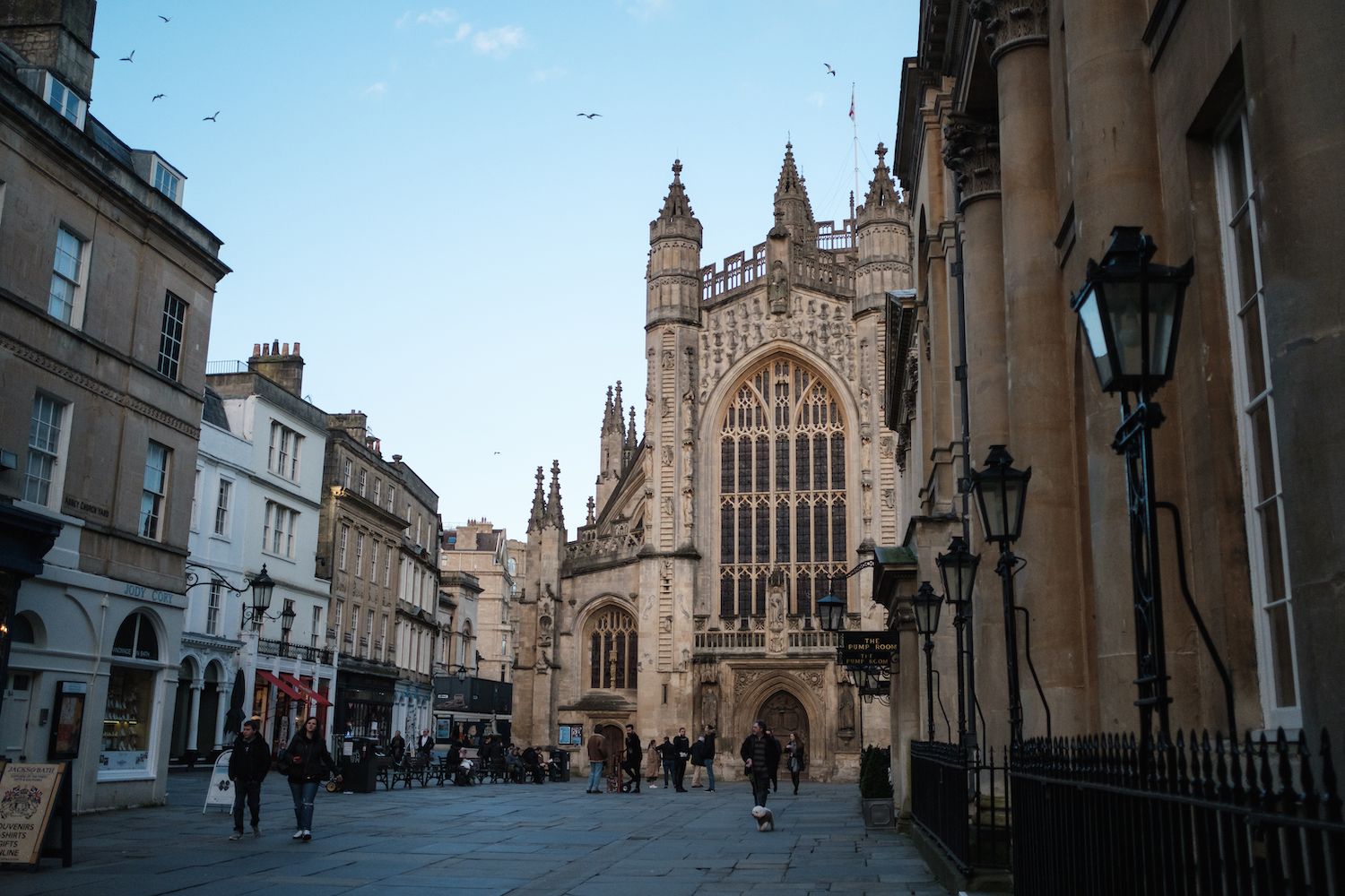Bath Abbey, Bath, England - by Ben Holbrook from DriftwoodJournals.com-51