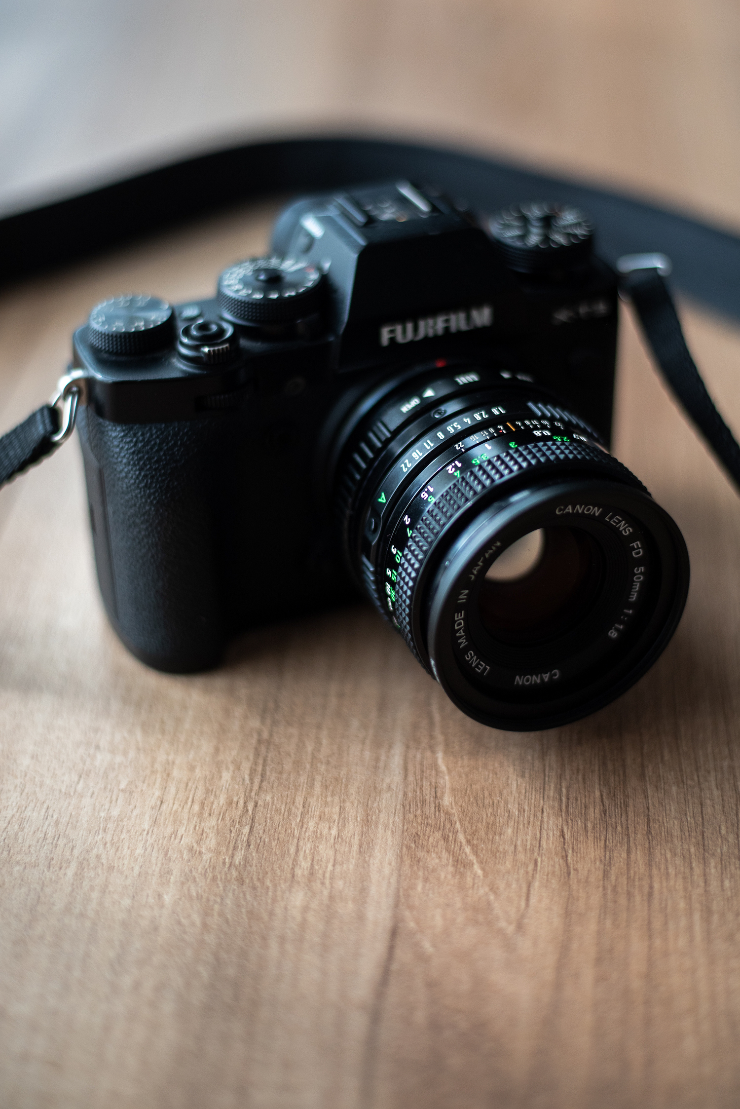 Vintage Canon FD 50mm with Fujifilm XT3 - by Ben Holbrook from DriftwoodJournals.com6