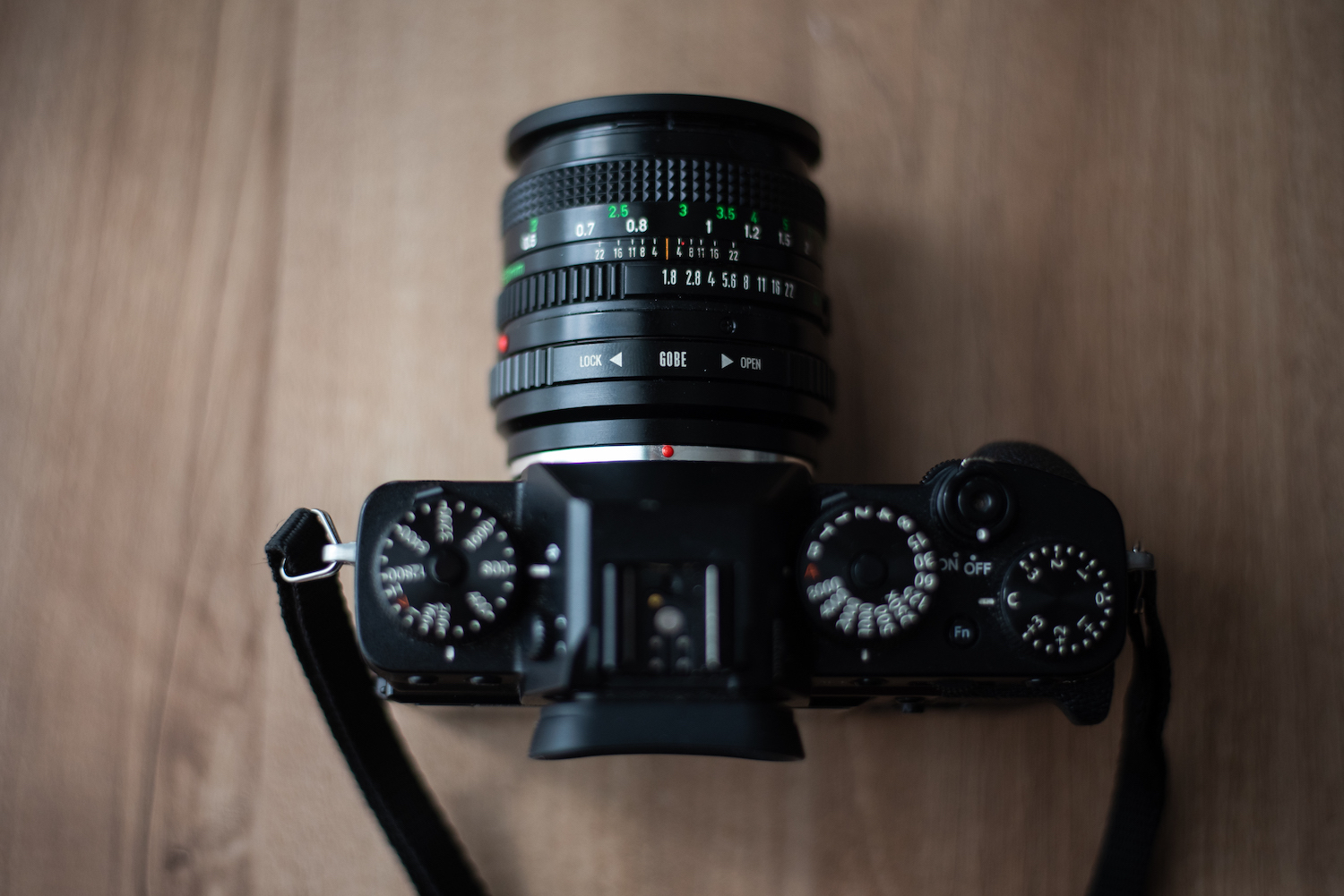 Vintage Canon FD 50mm with Fujifilm XT3 - by Ben Holbrook from DriftwoodJournals.com2