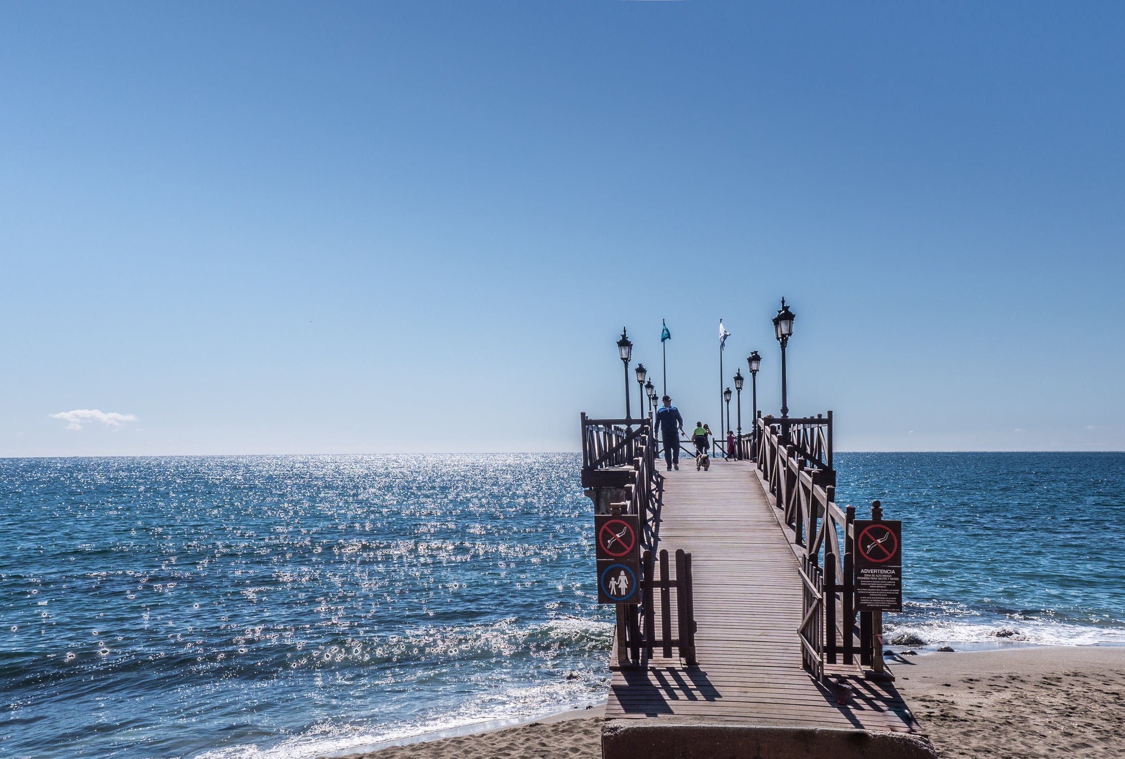 Marbella, Spain in Winter
