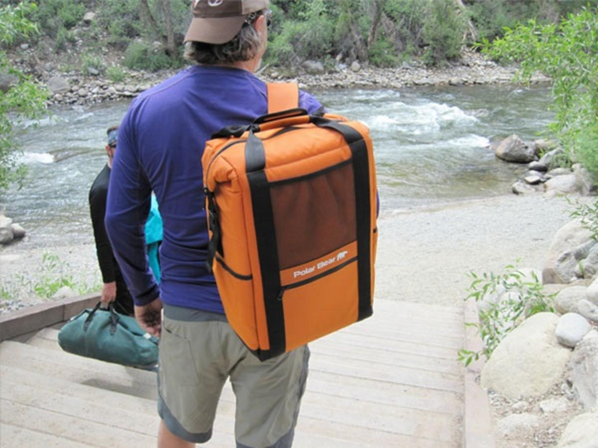 Polar Bear Backpack Cooler for Camping