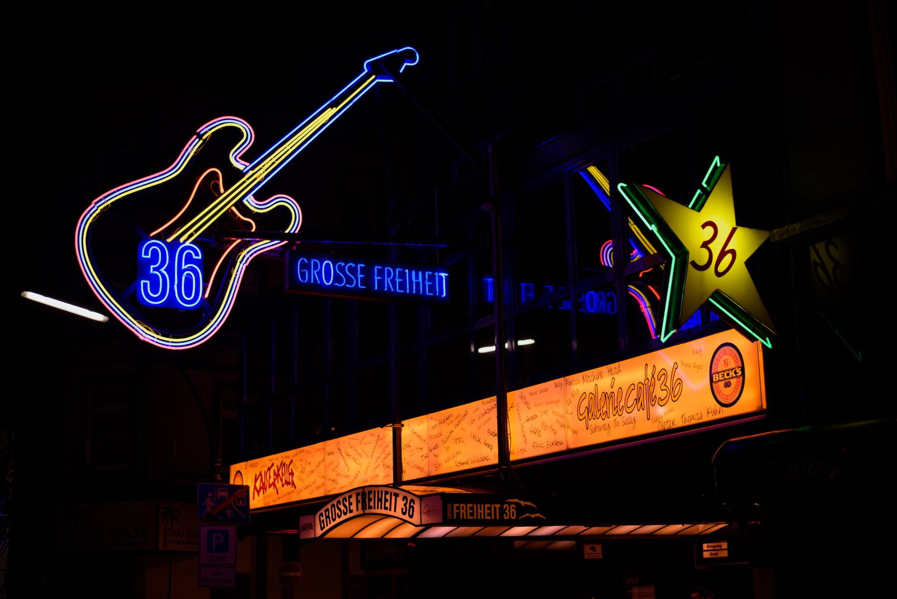 Reeperbahn, St. Pauli, Hamburg, German Travel and Street Photography by Ben Holbrook-14