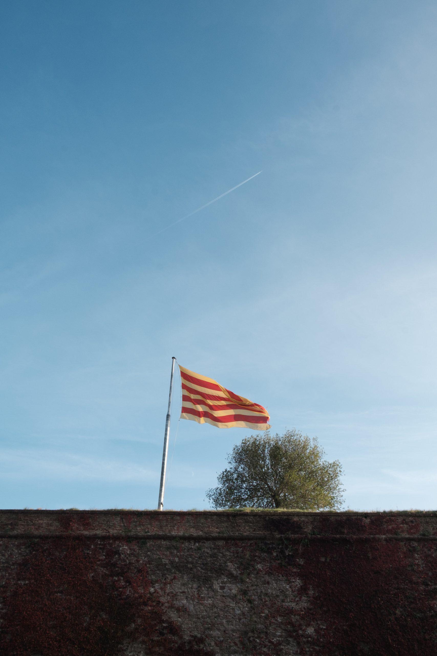 Barcelona Catalan flag by Ben Holbrook-15