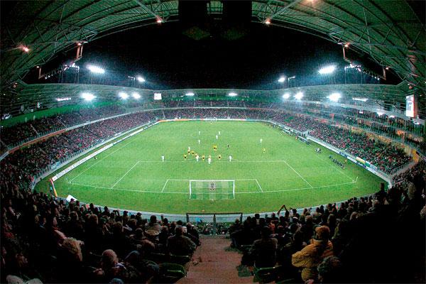 Rookvrij plekje in het stadion?