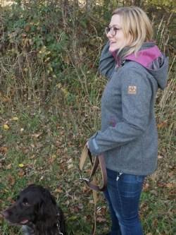 Drilling Jagd- & Outdoorbekleidung Damen Lodenjacke Artemis Outdoor Grau Beere