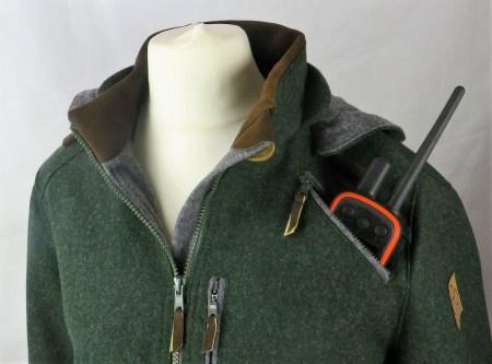 Drilling Jagd- & Outdoorbekleidung Damen Lodenjacke Artemis Jagd Hirschleder Grün