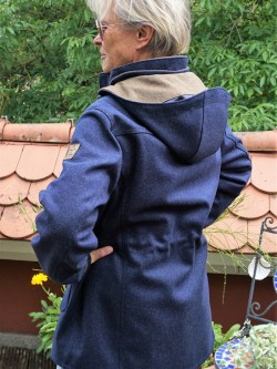 Damen Lodenparka Aurora Marineblau