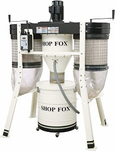 Shop Fox W1816 3 Horsepower Cyclone Dust Collector