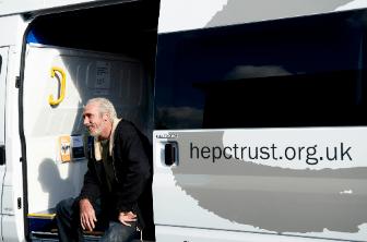 hep c trust van