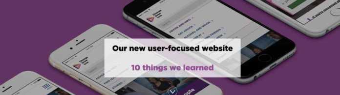 Change grow live new website