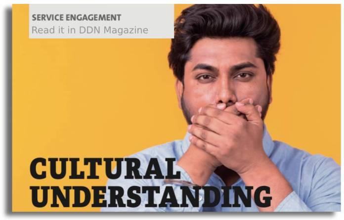 cultural understanding article in DDN Magazine