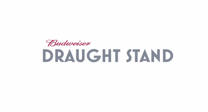 Blog post header image Budweiser Draught Stand