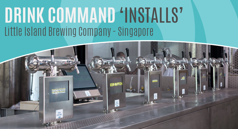 Blog Header Image World's first self-pour microbrewery installation at Little Island Brewery Singapore