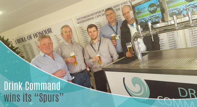 Blog post header Drink Command wins its Spurs