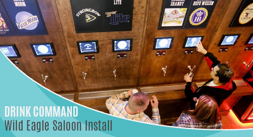 Blog post header Drink Command Wild Eagle Saloon Install