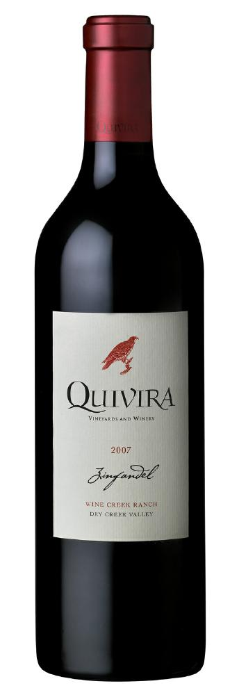 quivira wine creek ranch zinfandel 2007
