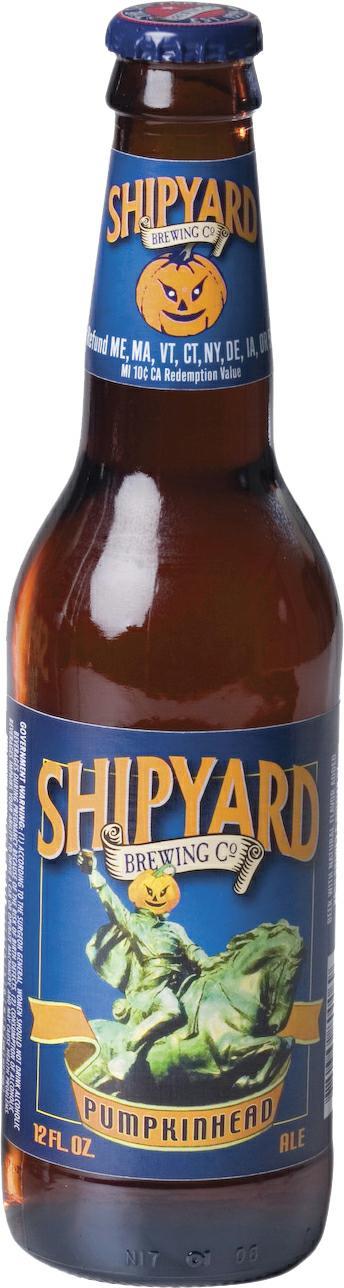 Shipyard Brewing Company Pumpkinhead Ale