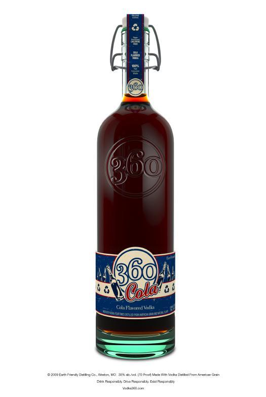 360 Cola Flavored Vodka
