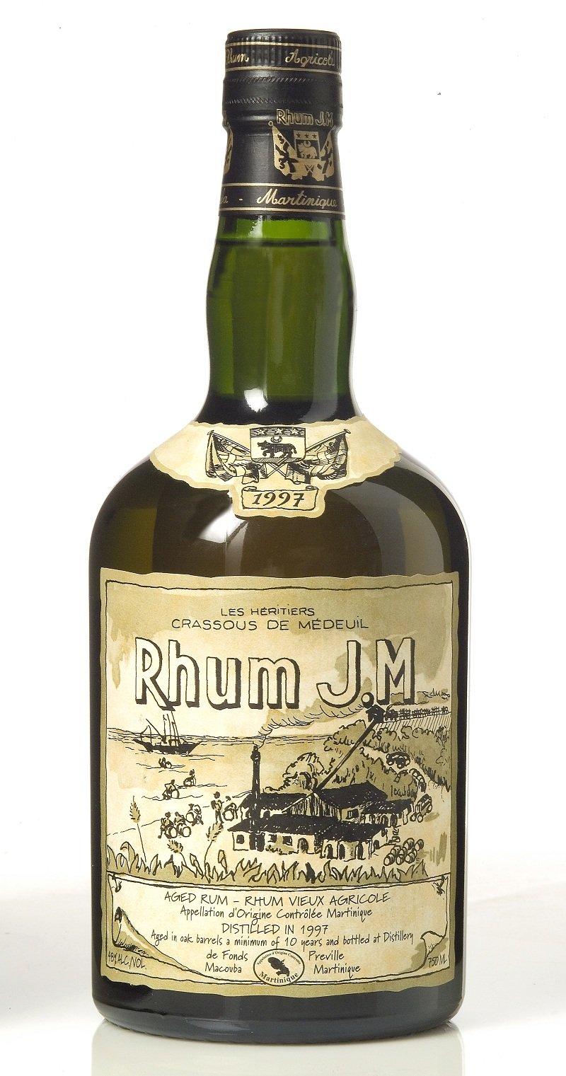 Rhum J.M. Rhum Vieux Agricole 1997